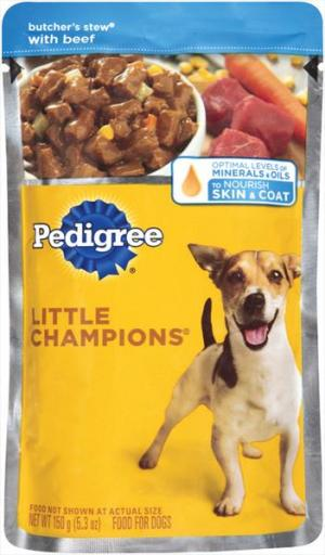Pedigree Little Champs Pouch Stew Beef