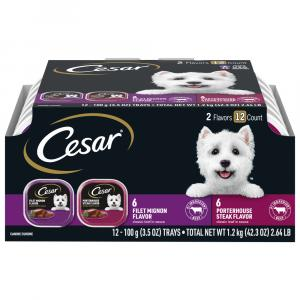 Cesar Beef Dog Food