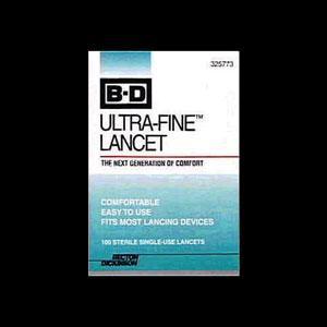BD Ultra-Fine 30 Gauge Lancets