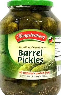 Hengstenberg Barrel Pickles