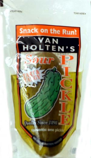 Van Holten Sour Pickle in a Pouch