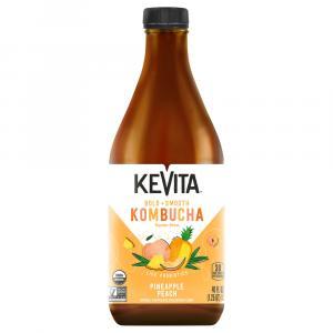 Kevita Master Brew Kombucha Pineapple Peach