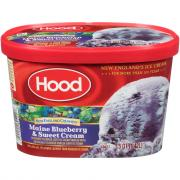 Hood New England Maine Blueberry & Sweet Cream Ice Cream