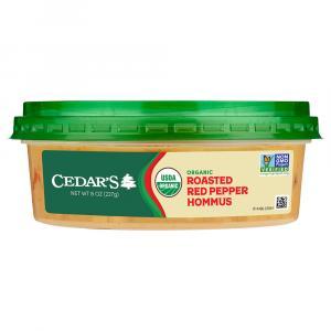 Cedar's Organic Red Pepper Hommus