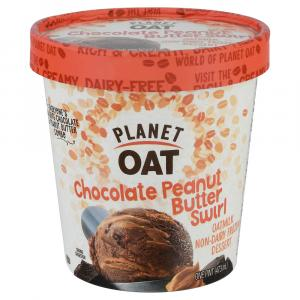 Planet Oat Chocolate Peanut Butter Swirl Frozen Dessert
