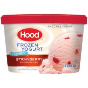 Hood Fat Free Strawberry Frozen Yogurt