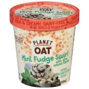 Planet Oat Mint Chocolate Chip Fudge Swirl