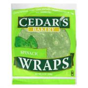Cedar's Spinach Wraps