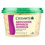 Cedar's Spinach & Artichoke Hommus