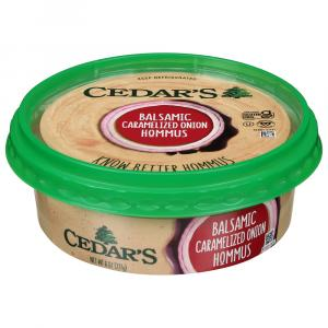 Cedar's Balsamic Carmelized Onion Hommus