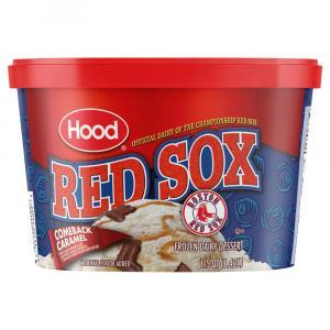 Hood Champions Comeback Caramel Ice Cream