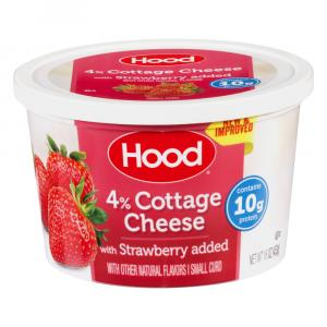 Hood Cottage Cheese with Strawberry Added