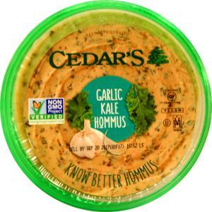 Cedar's Garlic Kale Hommus