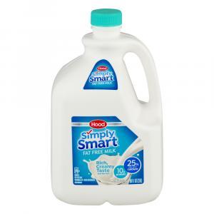 Hood Simply Smart Fat Free Milk with the Taste of 2% Milk