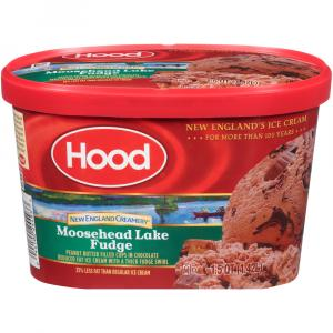 Hood New England Creamery Moosehead Lake Fudge Ice Cream