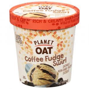 Planet Oat Coffee Fudge Swirl Frozen Dessert