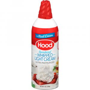 Hood Sweetened Whipped Light Cream