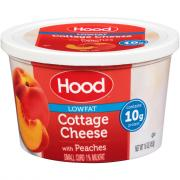 Hood Low Fat Cottage Cheese with Peaches