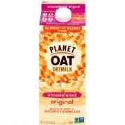 Planet Oat Oatmilk Unsweetened Original