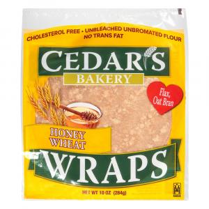 Cedar's Honey Wheat Wraps