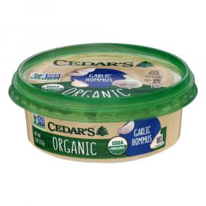 Cedar's Organic Garlic Lovers Hommus