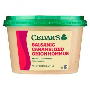 Cedar's Balsamic Caramelized Onion Hommus