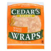 Cedar's Whole Wheat Wraps