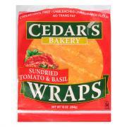 Cedar's Tomato & Basil Wraps