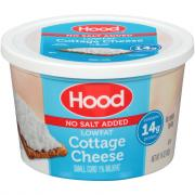 Hood Low Fat No Salt Added Cottage Cheese