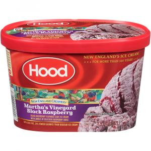 Hood New England Martha Vineyard's Black Raspberry Ice Cream
