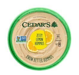 Cedar's Zesty Lemon Hommus