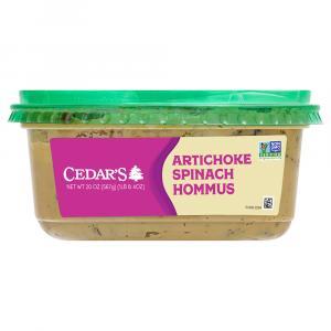 Cedar's Smooth & Creamy Artichoke & Spinach Hommus