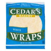 Cedar's White Wraps