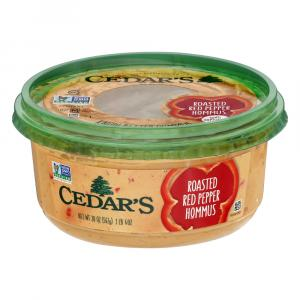 Cedar's Red Pepper Creamy Hommus