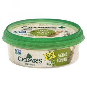 Cedar's Za'atar Hommus