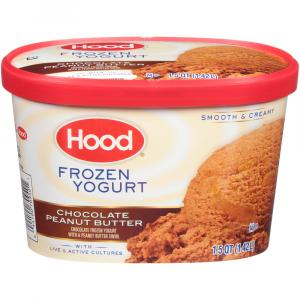 Hood Frozen Yogurt Chocolate Peanut Butter