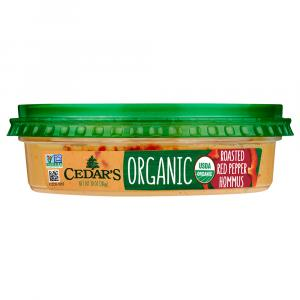 Cedar's Organic Roasted Red Pepper Hommus