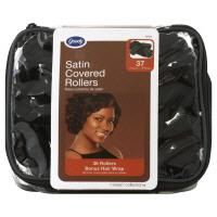 Goody Satin Covered Rollers & Wrap