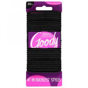 Goody Ouchless No Metal Black Elastics
