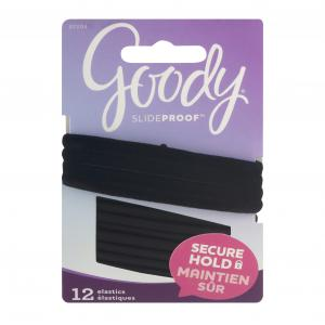 Goody Ouchless Black Velvet Elastics