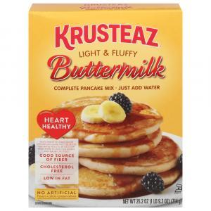 Krusteaz Buttermilk Pancake Mix Heart Healthy
