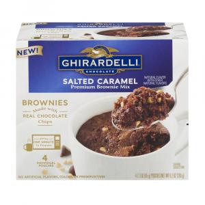 Ghiradelli Mug Salted Caramel Brownie Mix