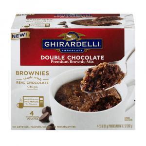 Ghiradelli Mug Double Chocolate Brownie Mix