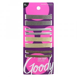 """Goody Assorted 2 & 2 3/8"""" Stay-Tight Metal Barrettes"""