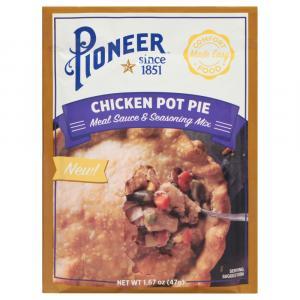 Pioneer Chicken Pot Pie Meal Sauce & Seasoning MIx