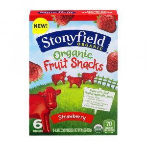 Stonyfield Organic Strawberry Fruit Snacks
