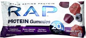 Rap Protein Gummies Mixed Berry