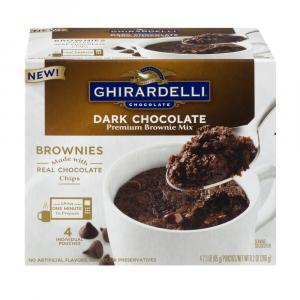 Ghiradelli Mug Dark Chocolate Brownie Mix