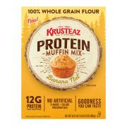 Krusteaz Banana Nut Protein Muffin Mix