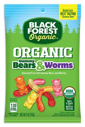 Black Forest Gummie Bears And Worms